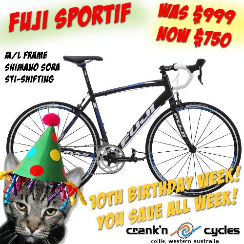 45a60323ff8 Fuji Sportif 2.1 Road Bike, Med-Large Frame Super 10th Birthday Special!